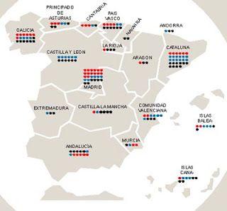 A TENER en CUENTA - LISTA de los más RICOS de ESPAÑA por COMUNIDADES