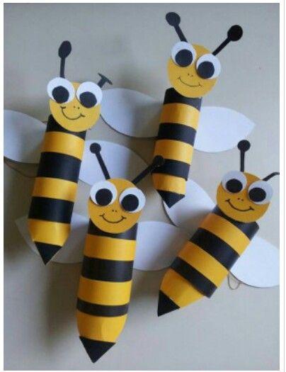 Toilet paper bee