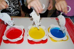 Trois souris peintres souris-peinture 0005                                                                                                                                                                                 Plus