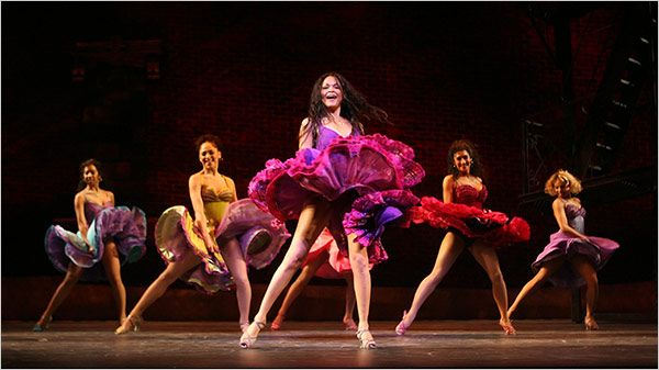 Karen Oliva as Anita in West Side Story.  Karen also was in the original Broadway cast of In The Heights, another one of my favorite musicals.
