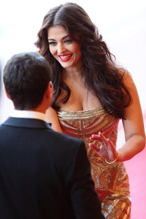 Cannes 2014: Aishwarya Rai Bachchan at the premiere of 'Deux Jours, Une Nuit'