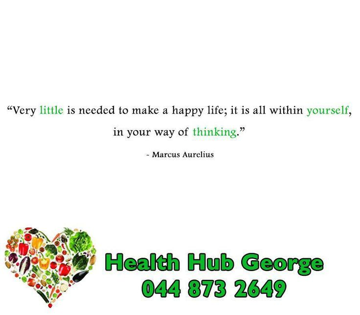 """Very little is needed to make a happy life; it is all within yourself, in your way of thinking."" - Marcus Aurelius #SundayMotivation #HealthHub"