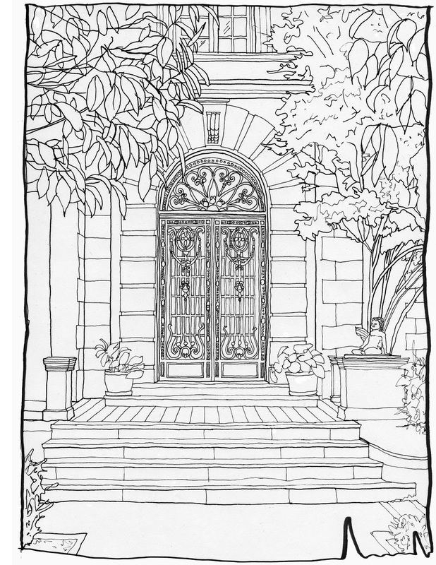 200 best Coloring pages to print - Cities images on Pinterest ...