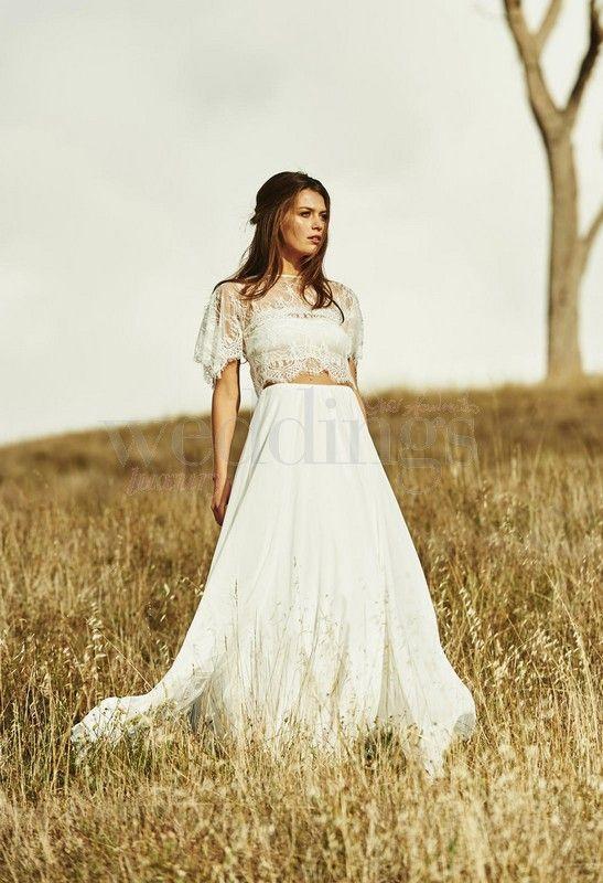 Grace Love Lace fall bridal collection 2015 per una sposa boho chic.