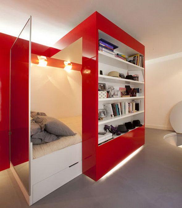 Aranżacja wnętrz : małe mieszkanie