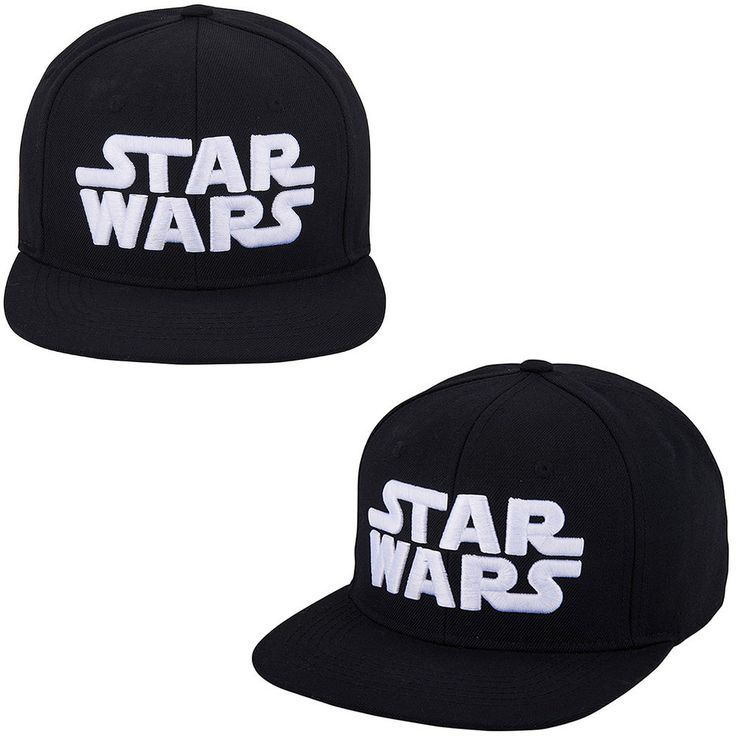 Unisex Mens Womens STAR WARS Logo Adjustable Baseball Hiphop Snapback Hats Caps #hellobincom #BaseballHiphopHatCap
