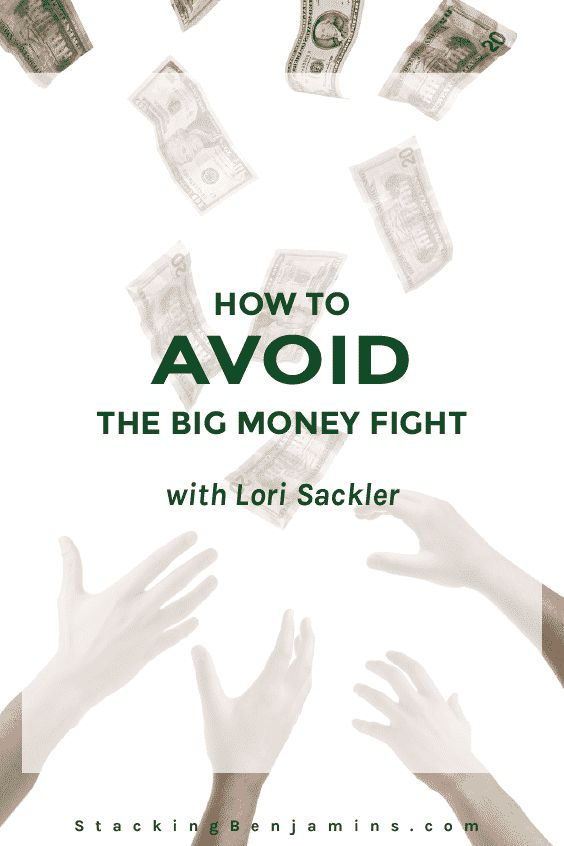 Lori Sackler, author of The M Word and the new M Word journal joins us in the basement today. She brings great advice on preparing to have the money talk.