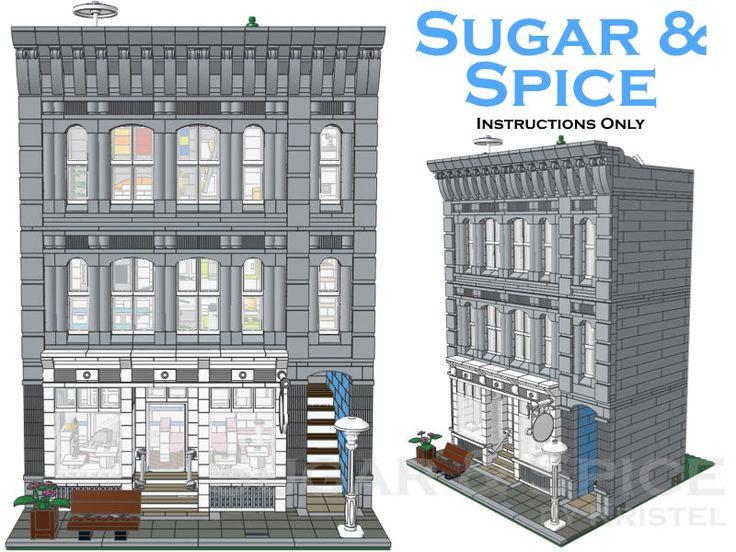 Sugar Spice Modular Building Custom Step by Step Instructions Only | eBay