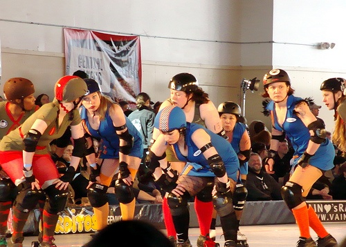 To watch a Rat City Rollergirls match. #ridecolorfully