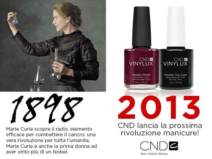 """Campagna """"Lancio CND Vinylux, the weekly polish"""": ♥ Il potere delle donne! ♥ CND Vinylux: abbiamo reinventato lo smalto! www.cndworld.it www.cndshellac.it"""