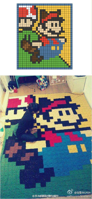 655 besten Crochet I Like - Super Mario Bros. and Yoshi Bilder auf ...