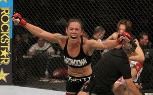 "Cristiane ""Cyborg"" Justino hasn't lost since her first pro fight in 2005. (Getty)"