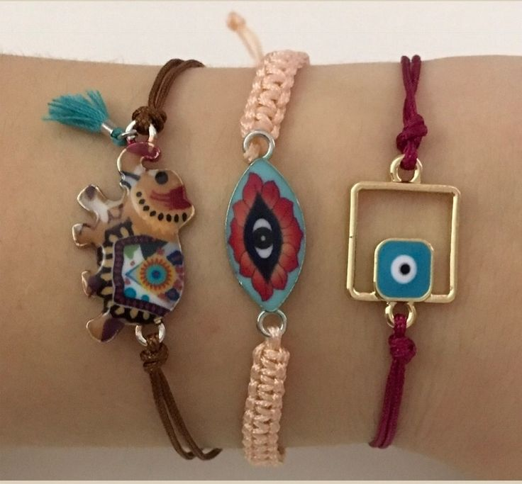 Boho bracelets from my spring collection! Find more details at: https://instagram.com/papanikolaou_maria_creations