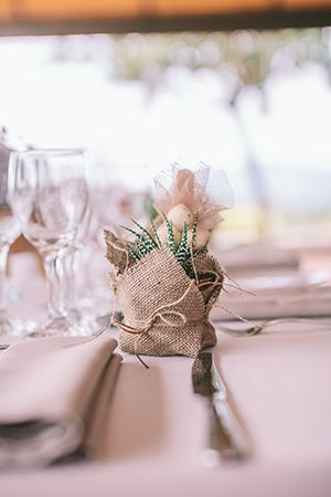 Chic eco-friendly wedding | Eleni & Spyros - Love4Wed