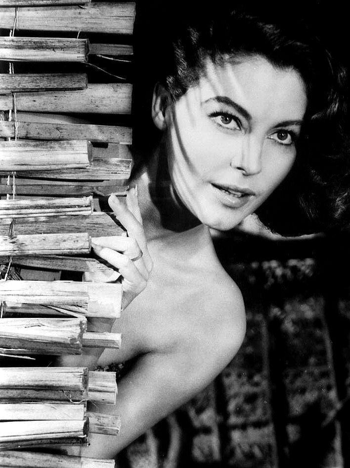 ava gardner • the little hut