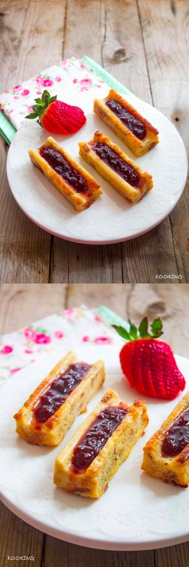 Pudín de roscón con frutos rojos / http://kook-pi.blogspot.com.es/