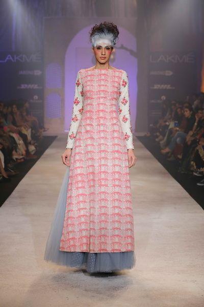 Anju Modi Lakme Fashion Week S/R 2014