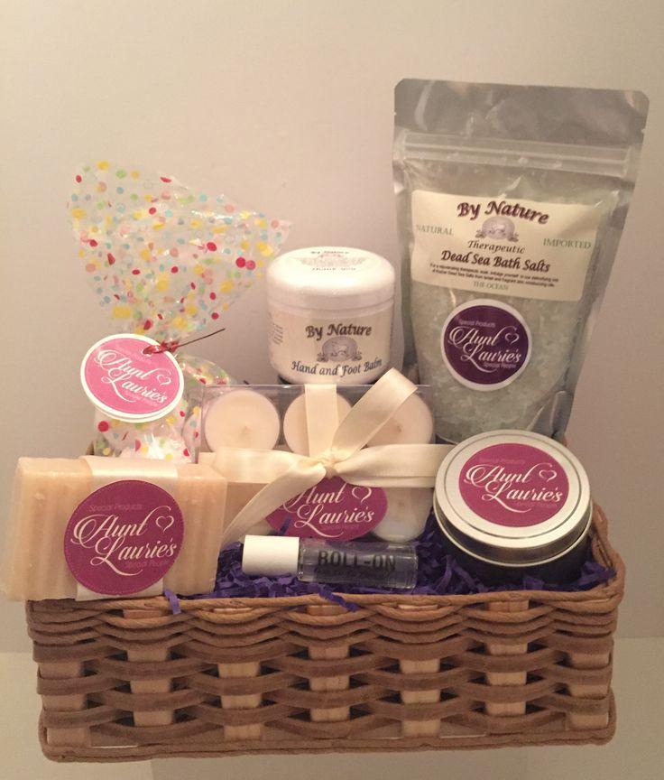 8 best lavender lover gift baskets images on pinterest for Massage gifts for her