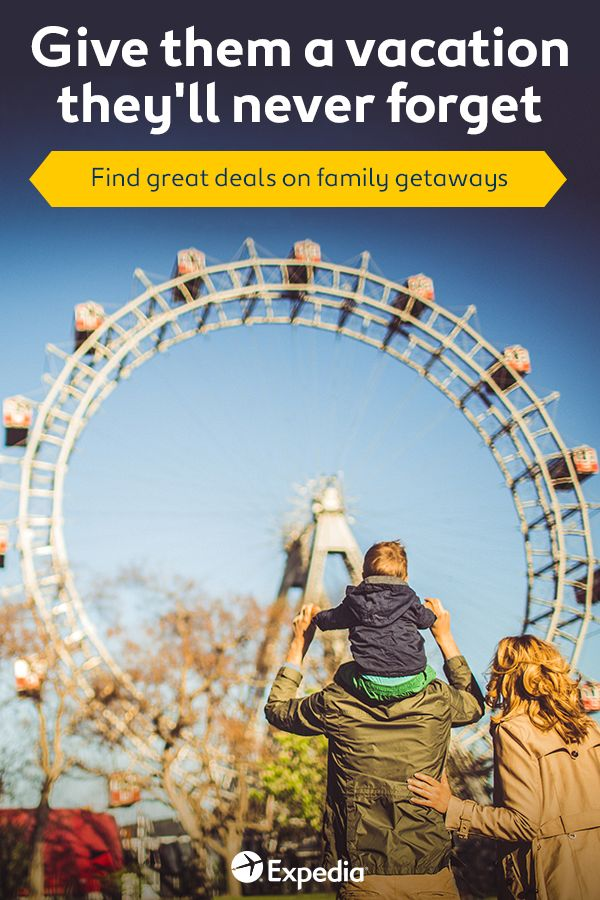 Discover special deals on family-friendly vacations from Expedia. Including special deals on vacations at some of the world's best amusement parks, you'll be able to take them a truly unforgettable vacation at an unmissable price. Find the latest deals at Expedia today.