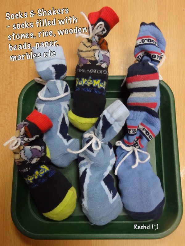 "Phase 1 Socks & Shakers game from Rachel ("",)"