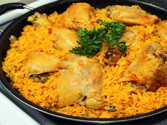 Puerto Rico Arroz con Pollo - Chicken with Rice Recipe | QueRicaVida