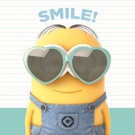 Smile my love! #Hallmark #HallmarkNL #liefde #love #hart #loveyou #houvanjou #smiley #smile #hearteyes #minions