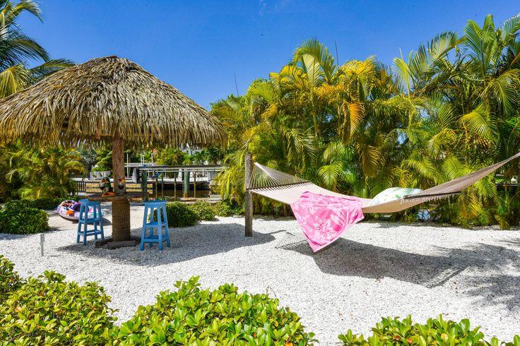 Florida Siesta in the Backyard at Sirenia By The Sea. Anna Maria Island, Florida. Click for more photos