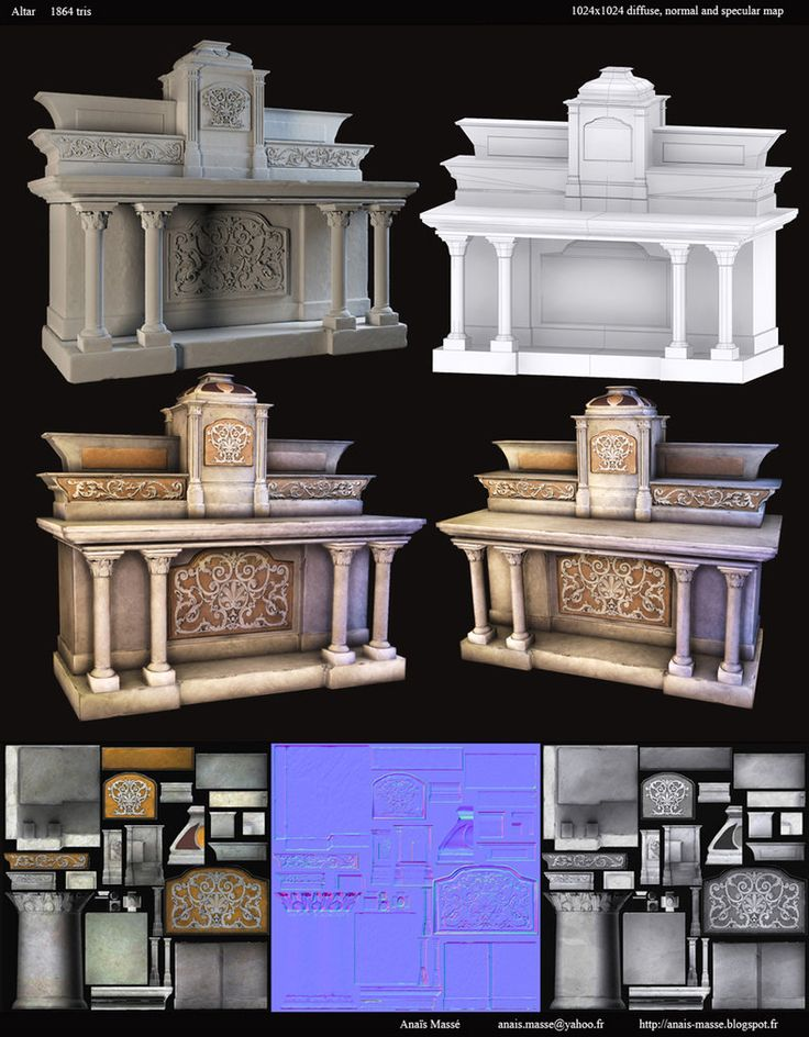 Altar by ~amaterasu111 on deviantART