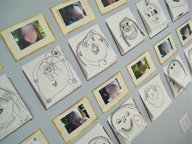 self portraits display