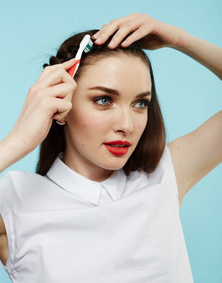 How To Style Braids Finishing Tips | Finish your braids off right with these gorgeous last steps, as part of our 29 Ways To Braid series. #refinery29 http://www.refinery29.com/braid-finishing-styling-tips