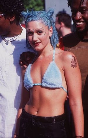 There is a revival of the 90's now...good thing I am just now acclimating this look.