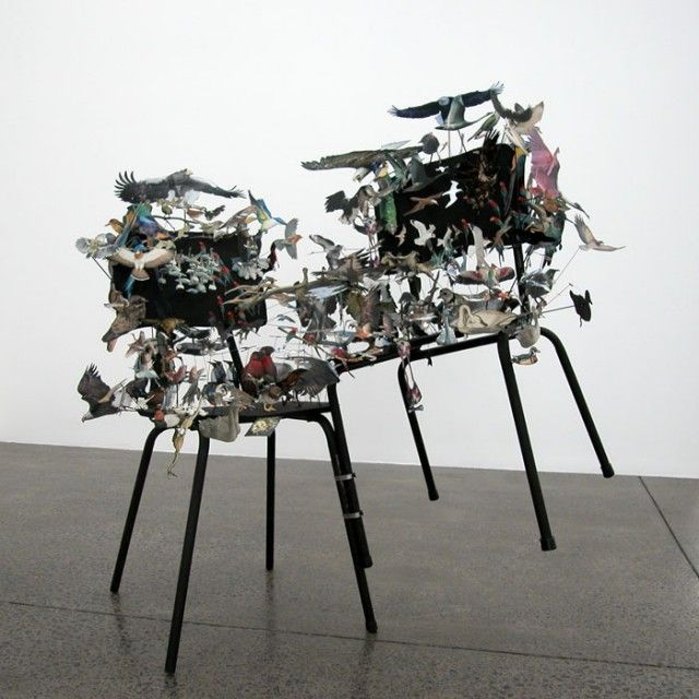 Peter Madden //// Photo Collage Sculptures