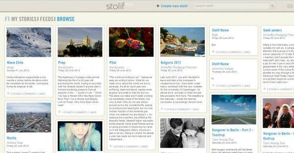 Oggi parliamo di Stolif, un nuovo social network che unisce Storify e Pinterest
