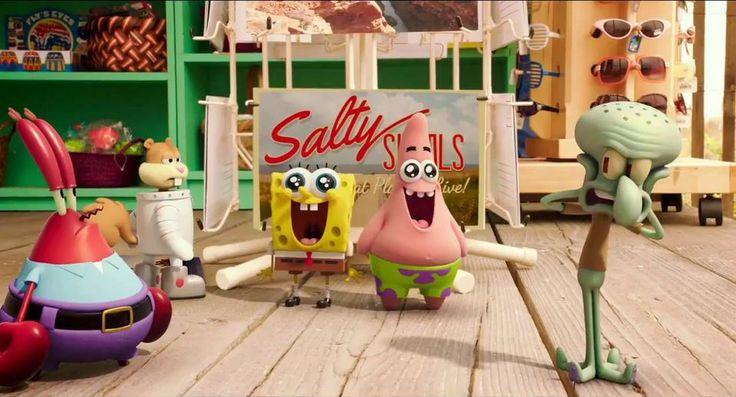 The Spongebob: Sponge Out Of Water International TrailerComputer Graphics & Digital Art Community for Artist: Job, Tutorial, Art, Concept Art, Portfolio
