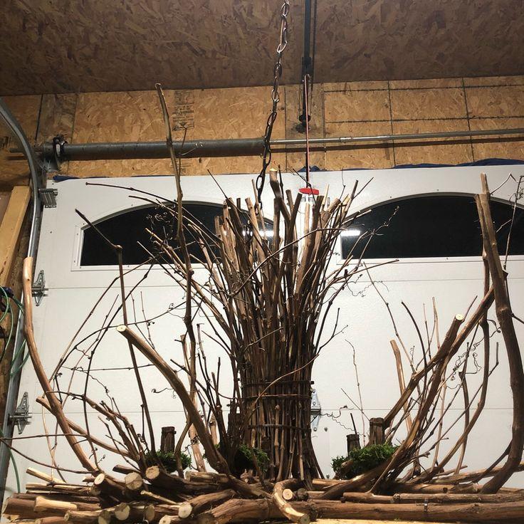 Rustic Handmade Light Fixture Twig Chandelier Branch: Best 25+ Twig Chandelier Ideas On Pinterest