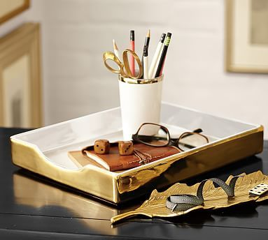 Lacie Desk Accessories #potterybarn