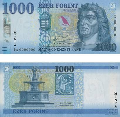 Megújulnak az 1000 forintos bankjegyek | 24.hu