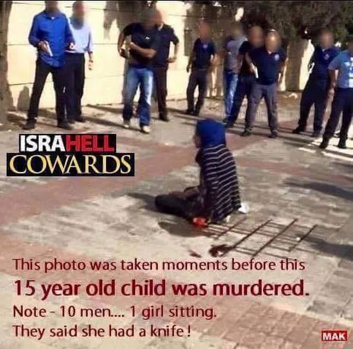 Image result for israelis plant knives on dead palestinians