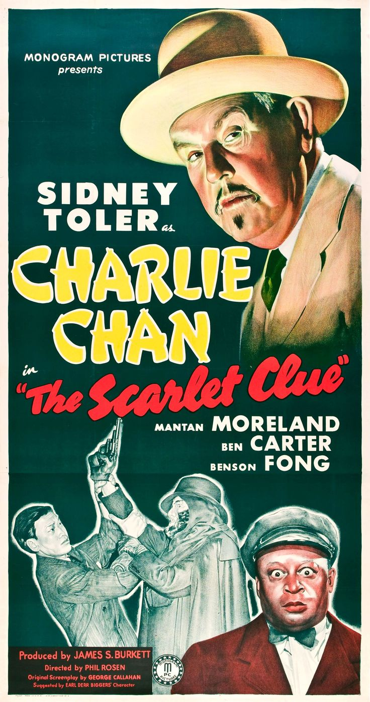Charlie Chan - The Scarlet Clue (1945): In the public domain. http://archive.org/details/The_Scarlet_Clue