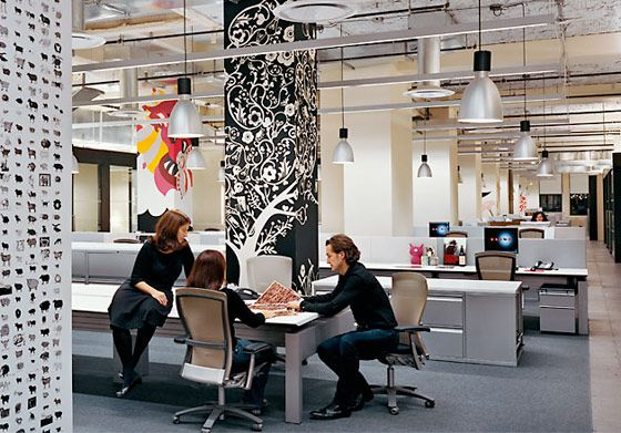 12 best images about cool work space on pinterest for Cool modern office