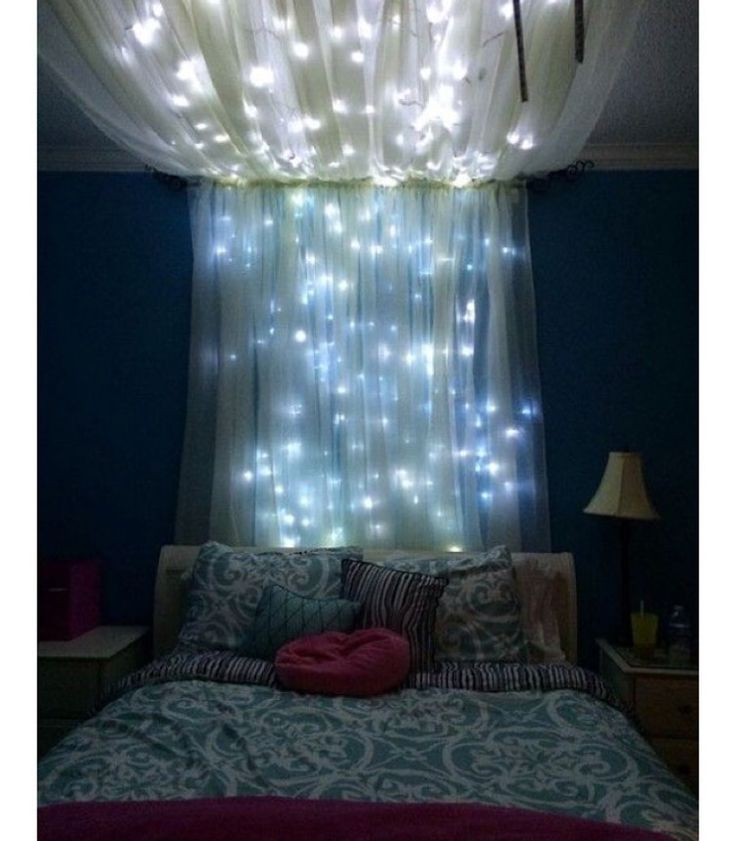 Waterfall lights  Bedroom ideas Pinterest Lights Bedrooms and Room
