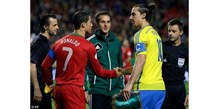 Ибрагимович: уровень игры Роналду — результат упорных тренировок, а не таланта