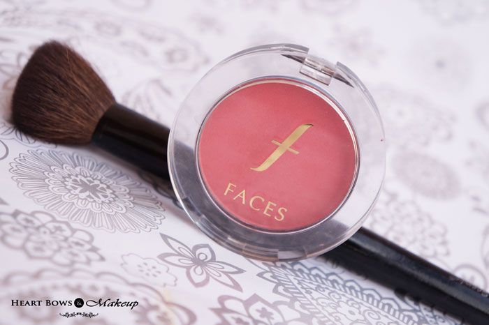 Faces Glam On Blush Coral Pink Review & Buy Online India