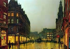 Boar Lane, Leeds: Although today his paintings fetch up to £500,000 ...