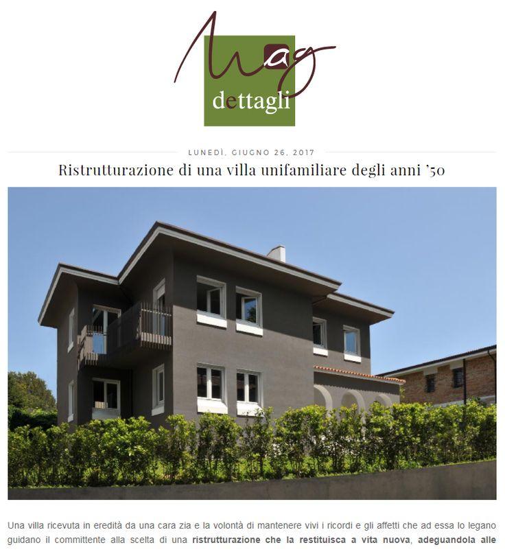 #tissellistudio single family villa in Cesena, published by Dettagli home decor