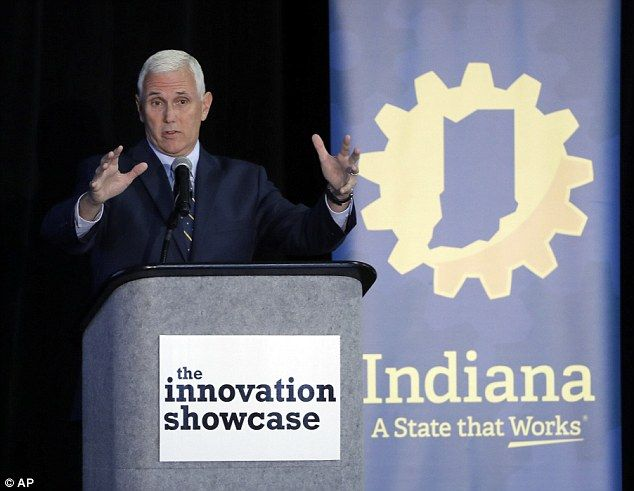 HE'S HIRED: Trump to name Indiana Governor Mike Pence as running mate according to reports  Not good.Pence is a really bad choice.