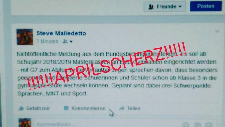 Gymnasialzug G7 ist mein Aprilscherz. April April. #instapic #bildungsplan #berlin #bildung #lehrplan #schule #gymnasium #schulreform #g7 #sxhulen #lehrer #kultus #hauptstadt #ministerium