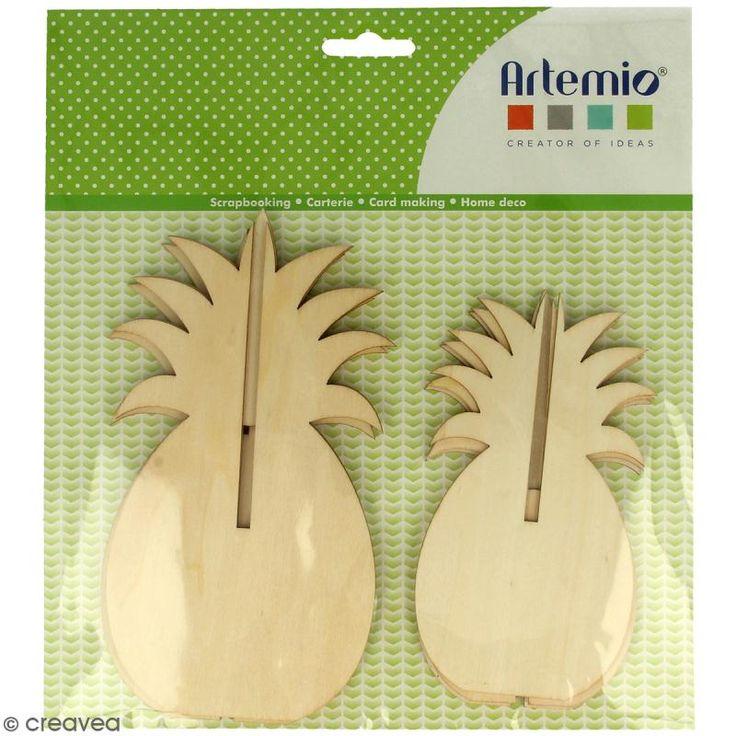 Compra nuestros productos a precios mini Figuras 3D de madera para montar y decorar - Piña - 2 uds - Entrega rápida, gratuita a partir de 89 € !