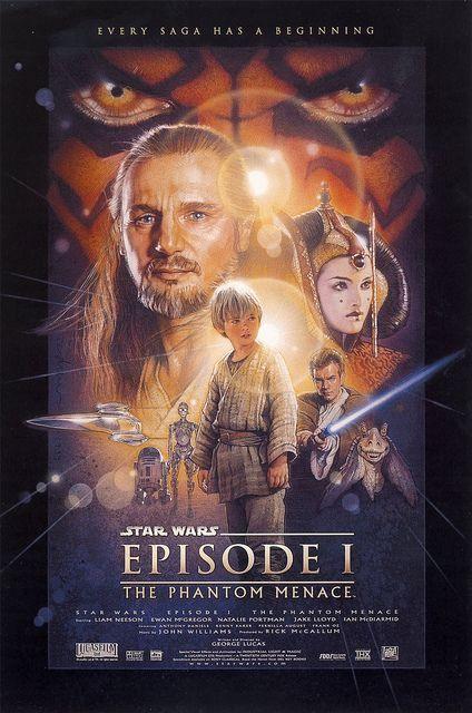 Trajan is the Movie Font. Episode I Star Wars