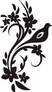 dibujos tribales de flores - Buscar con Google